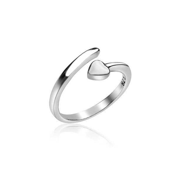 Pointed Heart Ring