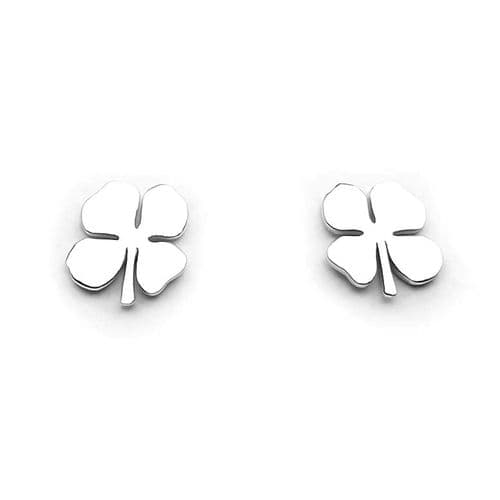 Shamrock Stud Earrings