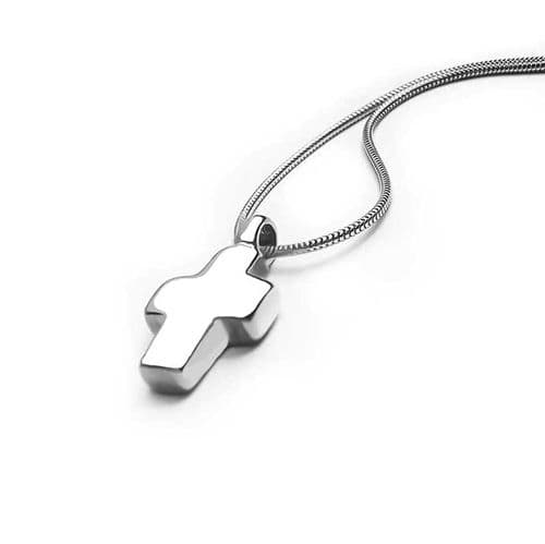 Small Heavy  Cross Pendant