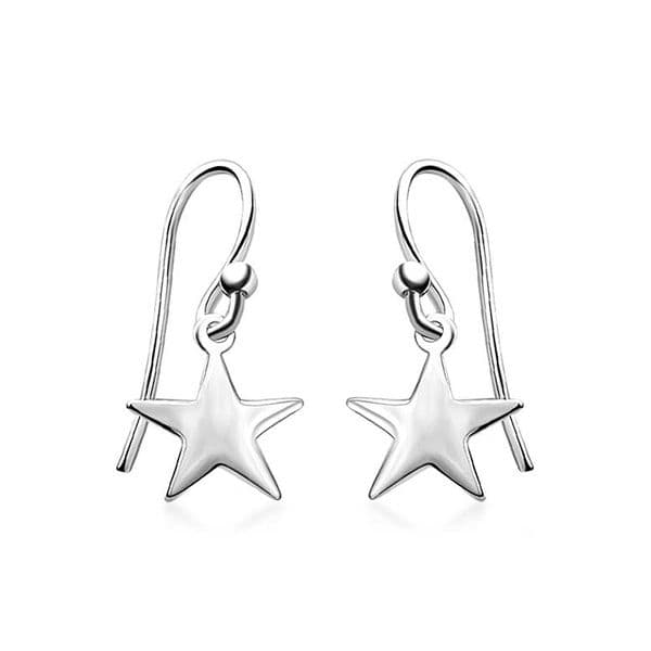 Star Dangle Earrings