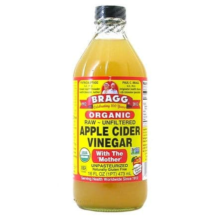 Braggs Organic Raw - Unfiltered Apple Cider