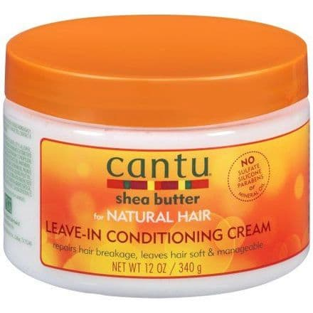Cantu Shea Butter for Natural Hair Leave-In Conditioning Cream - 340g