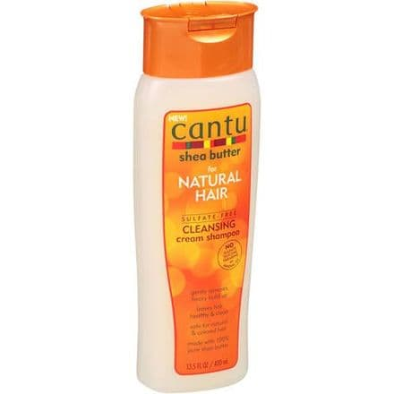 Cantu Shea Butter for Natural Hair Sulfate-Free Cleansing Shampoo