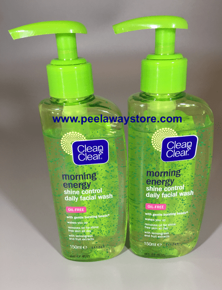 Clean & Clear Morning Energy Daily Facial Wash X 2