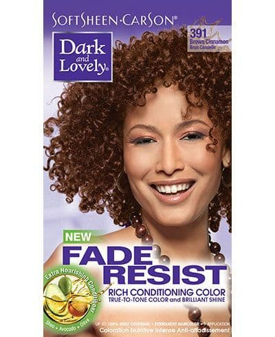 Dark and Lovely Fade Resist Rich Conditioning Color - Brown Cinnamon