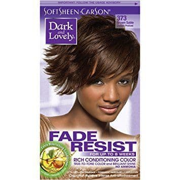 Dark and Lovely Fade Resist Rich Conditioning Color - Brown Sable