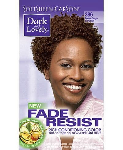 Dark and Lovely Fade Resist Rich Conditioning Color - Brown Sugar