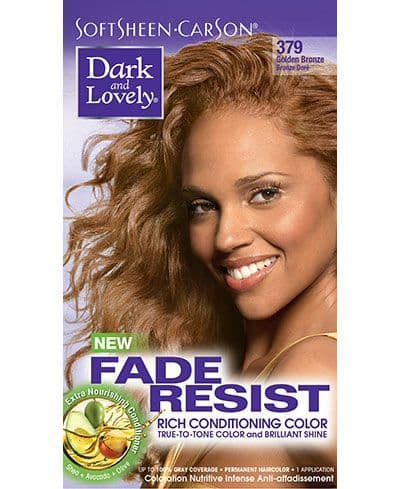 Dark and Lovely Fade Resist Rich Conditioning Color - Golden Bronze