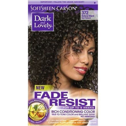 Dark and Lovely Fade Resist Rich Conditioning Color - Natural Black