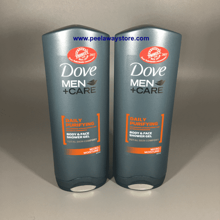 DOVE MEN + CARE  Daily Purifying Body & Face Shower Gel