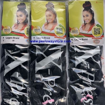 Lagos Braids Pre- Stretched Hair Extensions