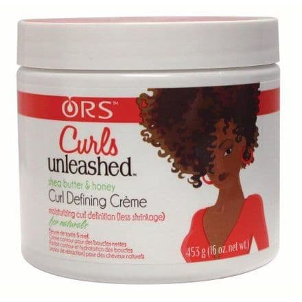 ORS Curls Unleashed Shea Butter & Honey Curl Defining Creme