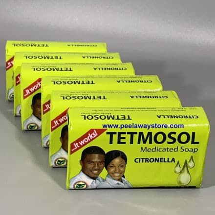 Tetmosol Medicated Soap Citronella