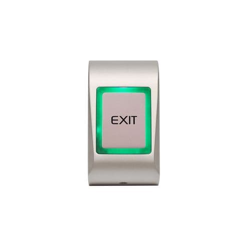 Videx  RTE BUTTON Surface Touch Silver MTTS-EXIT