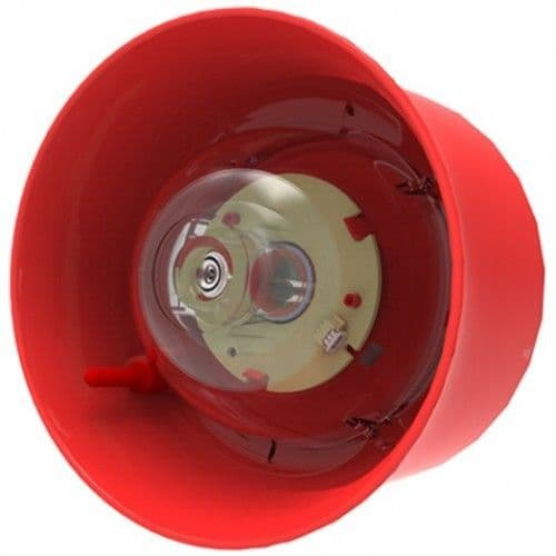 Hochiki  BEACON ADR/ABLE Red Wall Sounder Red LED CHQ-WSB2/RL