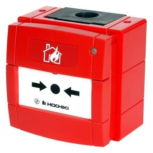 Hochiki  CALL POINT ADR/ABLE W/Proof c/w Isolator HCP-W(SCI)