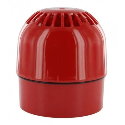 Klaxon HORN CONVENTIONAL Sonos Red Deep Base IP65 PSS-0020