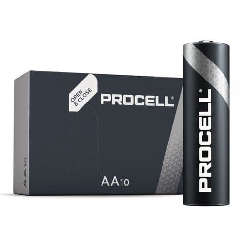 Procell BATTERY ALKALINE AA Duracell 10pack MN1500
