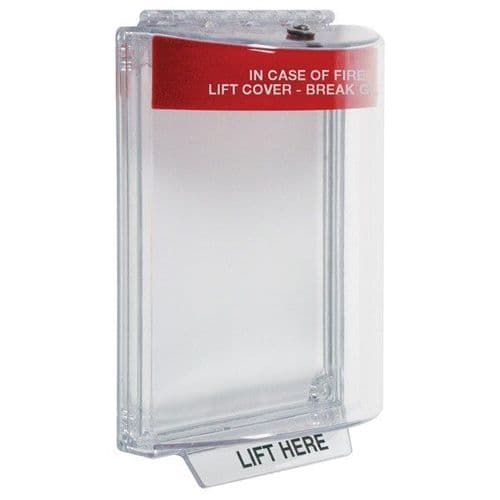 Safety Technology Int. FIRE PROTECTIVE COVER UniStopper Rd Sur STI-13110FR