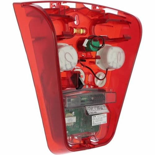 Scantronic SOUNDER EXTERNAL Red Backplate SDR-WEXT-G2-RD-NC