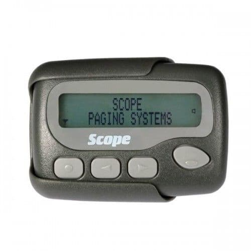 Scope FIRE MISC 40 Character Pager GEO40A10M