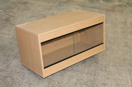 90cm x 45cm x 60cm  (36x18x24) Flat Packed Vivarium 3ft