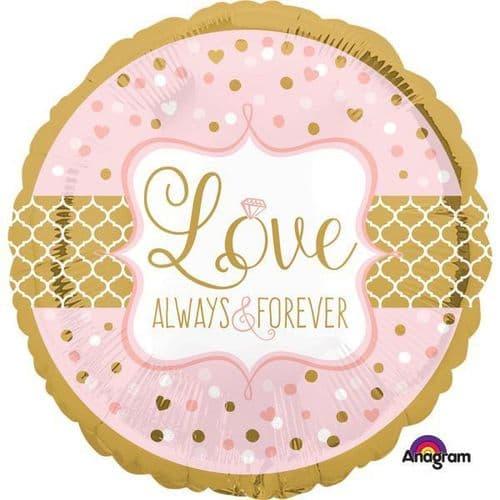 Always & Forever Standard Foil Balloon