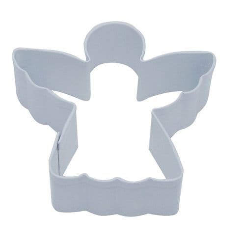 Angel Poly-Resin Coated Cookie Cutter White