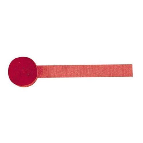 Apple Red Crepe Streamers 4.4.cm x 24.7m