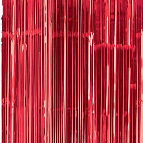 Apple Red Door Curtain 91cm x 2.43m