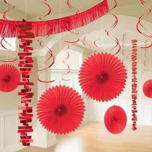 Apple Red Room Decoration Kit/18