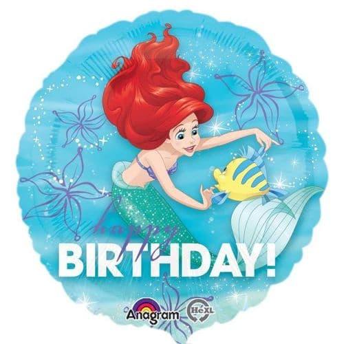 Ariel Birthday Dream Big Standard Foil Balloon