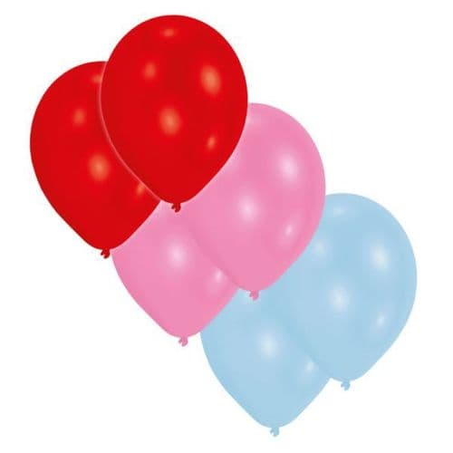 Assorted colours - Latex Balloons 30 per pack.