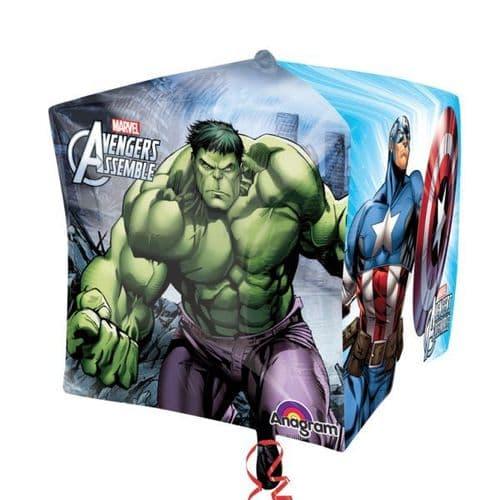 """Avengers Cubez Foil Balloon 15"""""""
