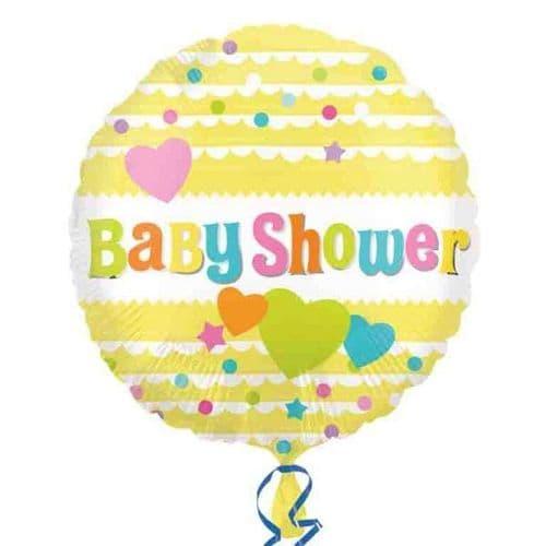 Baby Shower Yellow Standard Foil Balloon