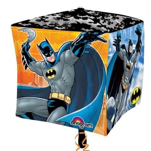 "Batman Comics Cubez Foil Balloon 15"""