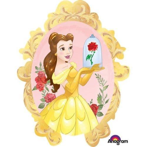 "Beauty & The Beast SuperShape Foil Ballloon 31"" x 25"""