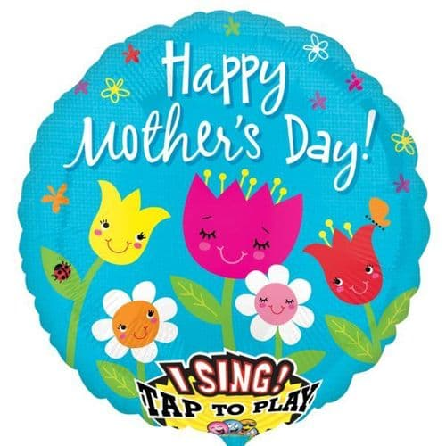 """Best Mother`s Day Jumbo Sing-A-Tune Balloon XL 28"""""""
