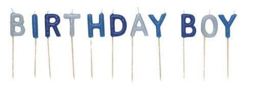 Birthday Boy Pick Candles Blue