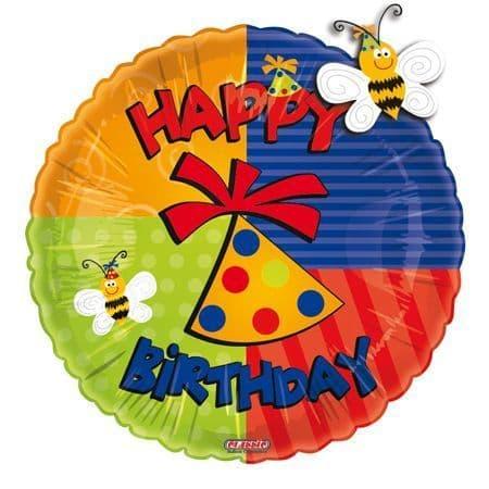 Birthday Fun Flitter Foil Balloon
