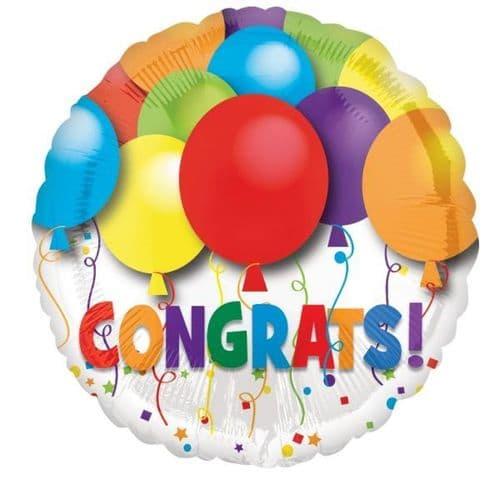 Bold Congratulations Foil Balloon