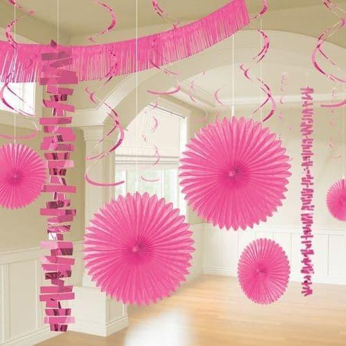 Bright Pink Room Decoration Kit/18