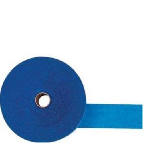 Bright Royal Blue Crepe Streamers 4.4.cm x 24.7m