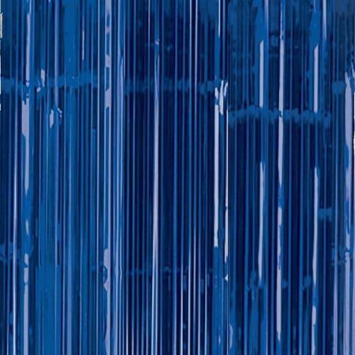 Bright Royal Blue Door Curtain 91cm x 2.43m