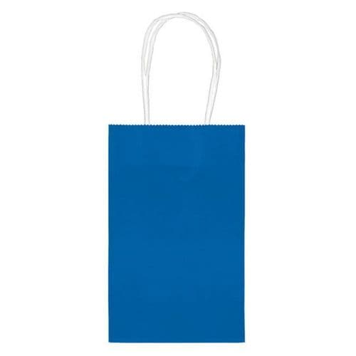 Bright Royal Blue Paper Gift Bags/10