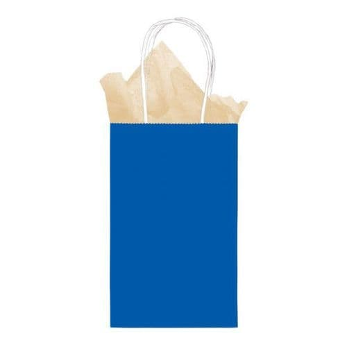 Bright Royal Blue Small Gift Paper Bags