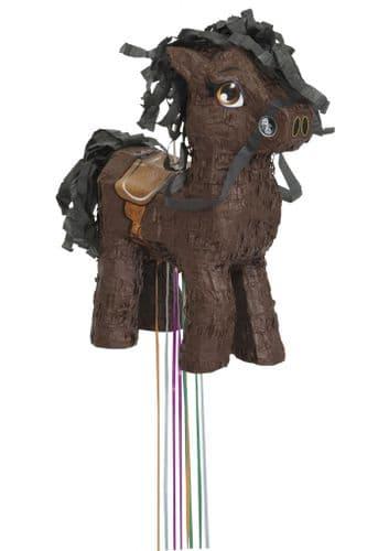 Brown Horse 3D Pull Pinata