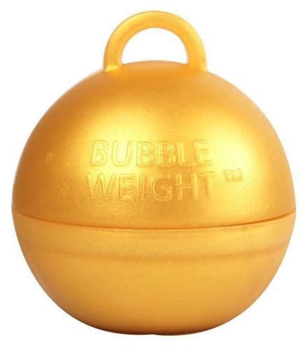 Bubble Balloon Weights Gold