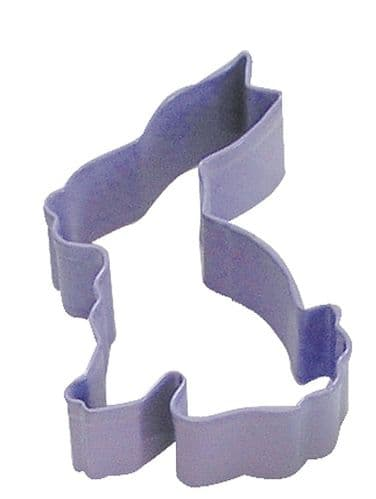 Bunny Poly-Resin Coated Cookie Cutter Lavender