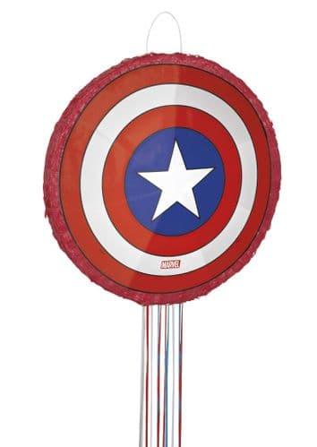 Captain America Shield 3D Pinata